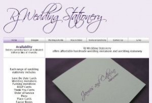 RJ Wedding Stationery